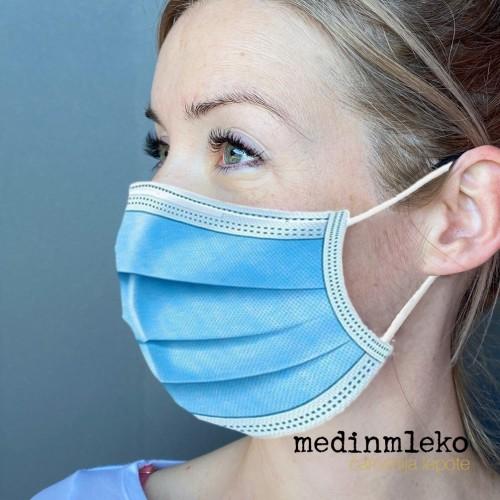50 kos - Higienska trislojna maska