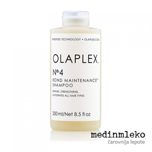 OLAPLEX N°4 - Kremni šampon za poškodovane lase