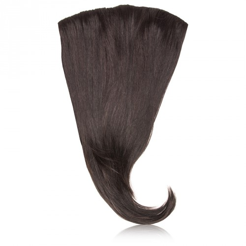 Hairdo by HairUwear - Ravni clip-in podaljški - R4 midnight brown 55 cm