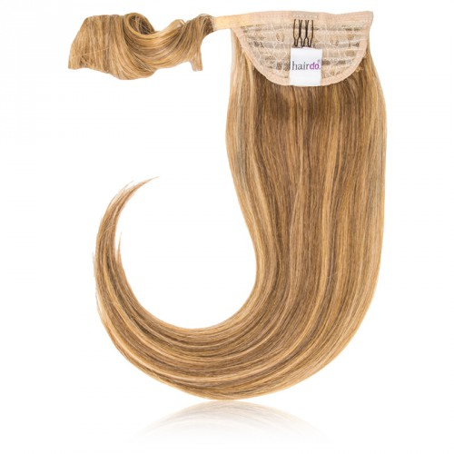 Hairdo by HairUwear - Raven čop Simply straight pony - R25 ginger blond/medium blond 45 cm