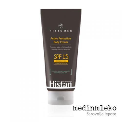 Histomer - Histan aktivna zaščitna krema za telo SPF 15 - učinkovita v boju proti celulitu