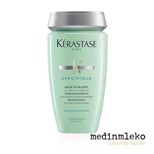 Kérastase - Specifique Bain Divalent kopel za zdravljenje mastnih korenin