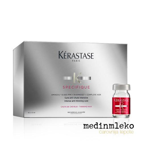 Kérastase - Specifique Cure Anti-Chute ampule proti izpadanju las