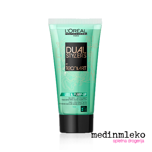 L'Oreal Professionnel - Tecni Art  Liss and Pump Up krema za volumen