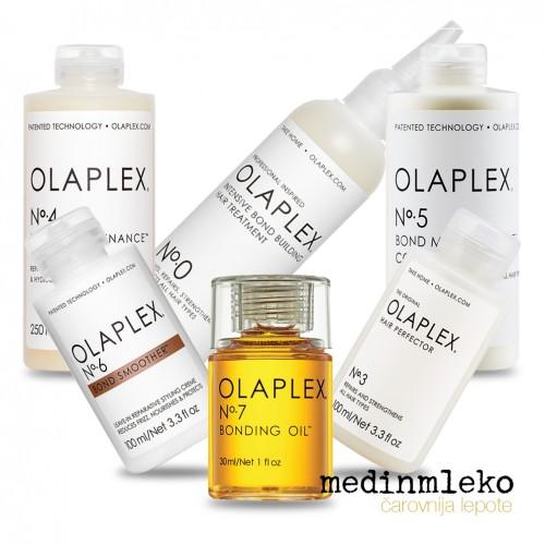 OLAPLEX  No.0 - No.3 - No.4 - No.5 - No.6 - No.7 - Celovit set za nego poškodovanih las